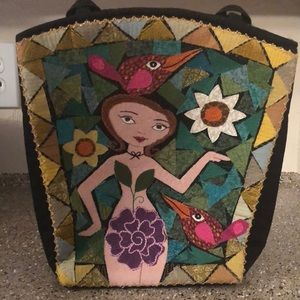 Handbags - Handmade Laura Maclay Art Handbag